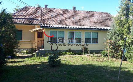 GEMINIBROKER Vám ponúka na predaj domček vo Vilyvitány