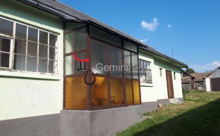 GEMINIBROKER Vám ponúka na predaj dom v obci Füzérkajata