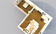 Slnečný 2 izb. byt ⎮Rekonštrukcia r.2011⎮Svit