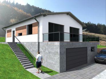 Predaj novostavby RD v obci Lietava s lukratívnym výhľadom, 844 m2, Cena: 158.000 €
