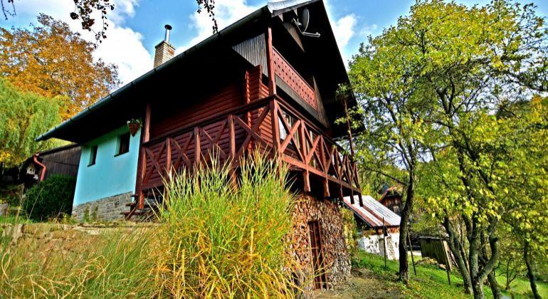 Predaj chaty vo Veľkom Rovnom s 1300 m2 pozemkom