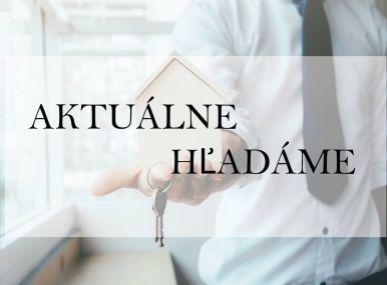 MAXFIN REAL - hľadáme do prenájmu rodinný dom v okolí Banskej Bystrice.