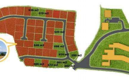Posledné stavebné pozemky so sieťami pre náročného klienta, o rozlohe od 549 m2, Fončorda,  B. Bystrica - možnosť výstavby RD
