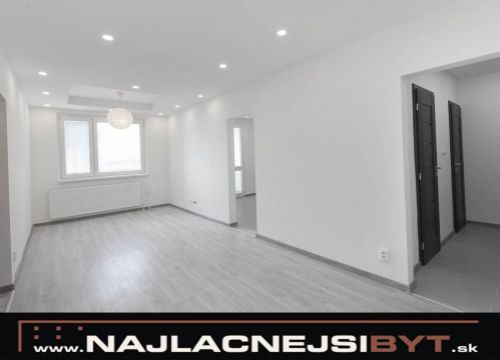 Najlacnejsibyt.sk: BAV - Petržalka, Lietavská ul., 3 izbový, 69,63 m2, kompletná rekonštrukcia 2018
