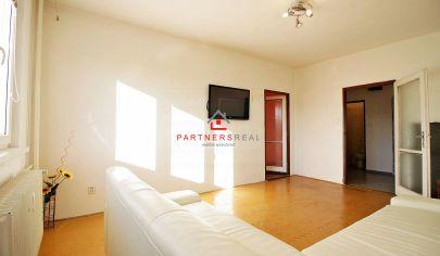 *REZERVOVANÉ* Ideálny TEHLOVÝ 2-izb. byt (56m2), čiastočná rekonštrukcia, Študentská ul. / KE - SEVER