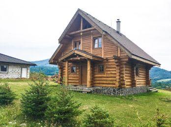 Kanadský zrub - Banská Štiavnica - časť Štefultov