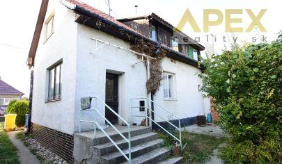 APEX reality - investičná neh. - dvojgeneračný 6iz. RD v Šulekove, poz. 2185 m2, všetky IS