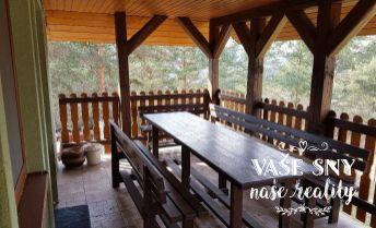 Murovaná chata v krásnom prostredí s rovným pozemkom, Ilava