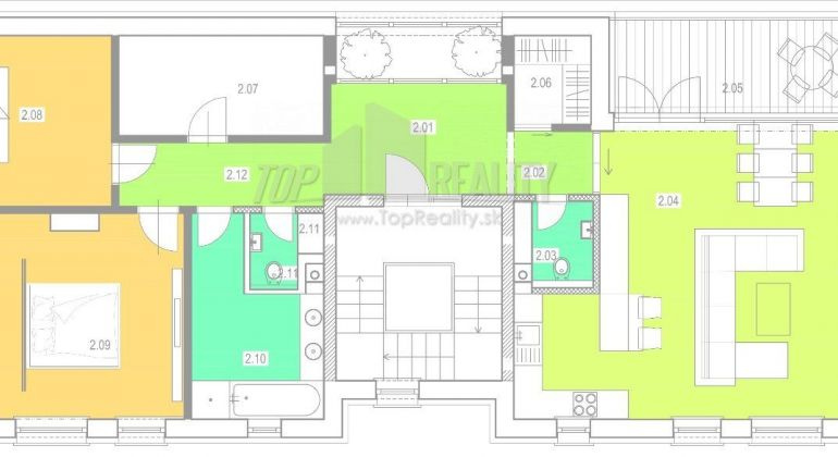 Predaj - lukratívny 4-izbový byt v  novostavbe - Bratislava Lamač, Vrančovičova ul