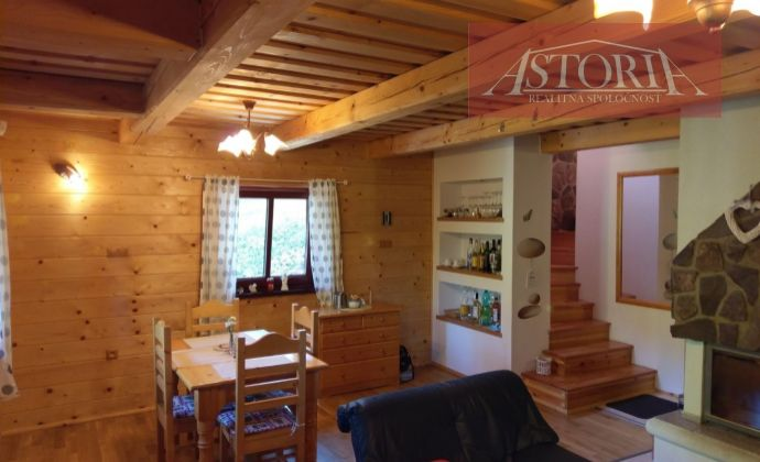 Zrubový rekreačný dom v krásnom prostredí Nízkych Tatier