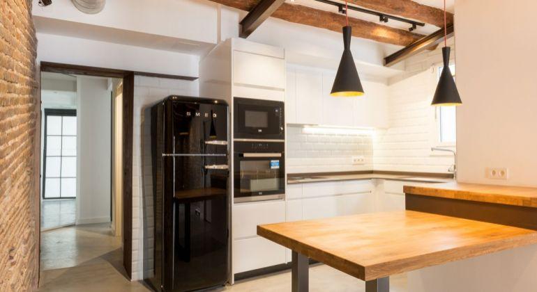 GREGORY Real ponúka na predaj byt v industriálnom štýle v Barcelone, štvrť El Born - dovolenka, oddych, dobrá investícia
