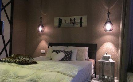 Na prenájom slnečný nadštandartný moderný 3 izbový byt s balkónom v novostavbe Oriešková ul. Prievoz