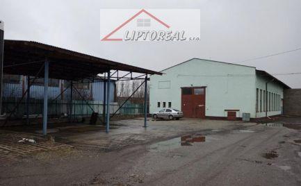 Skladové priestory a parkovacie plochy LM-Palúčanská