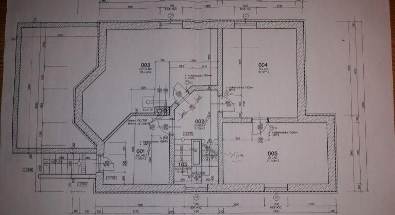 Hrubá stavba - 4+1 izb. rod.dom Trenčianska Turná