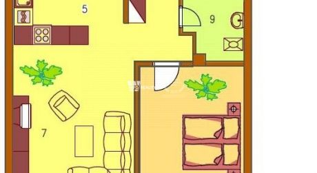 2 izbový byt 81m2, v komplexe Tri star, Žilina - Bôrik