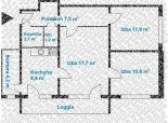 3 izb. byt, Sadmelijská ul., zrekonštr. podľa Vašich predstáv