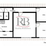 3izbový byt na Lachovej ulici v Petržalke