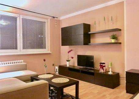 Prenájom zariadený 1 izb.byt, Rezedova, Ružinov, 38m2
