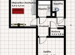 3 izb. byt, Štefunkova ul., po kompletnej rekonštrukcii