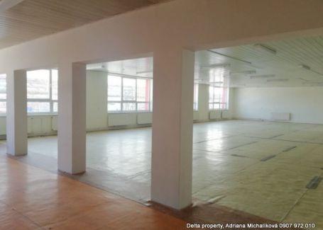 DELTA-ponúka priestory na prenájom v priemyselnej zóne v Poprade.