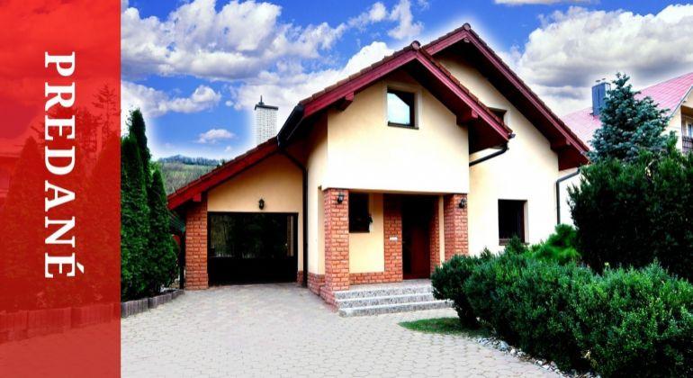 PREDANÉ: Predaj moderného RD v obci Belá - len v JR