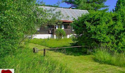 Romantická chalupa s rozľahlým pozemkom Nálepkovo, Zahájnica