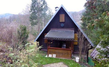 Útulná chata v tichom a krásnom prostredí prírody - Hronec