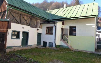 Rodinný domček po čiastočnej rekonštrukcii - Hronec