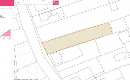 Stavebný pozemok SEŇA, 1131 m2, komplet siete pri pozemku
