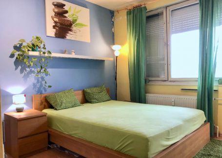 DELTA - REZERVOVANÝ - 1 izbový byt na začiatku Petržalky s balkónom