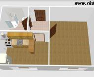 1i kompletne zrekonštruovaný byt vo Vlkanovej