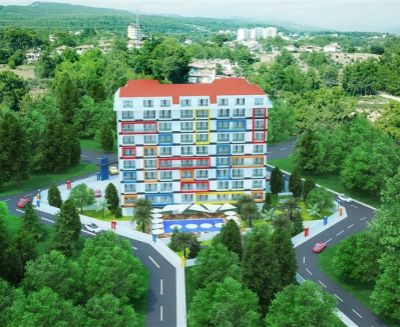 Predaj 2 izbový apartmán 38 m2 Alanya Avsallar Turecko 18215