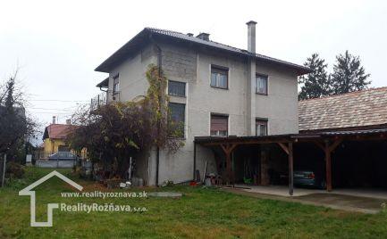 Exklúzivne. Rodinný dom v obci Tornaľa- Stárňa.