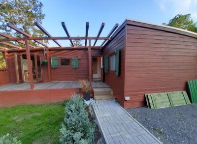 Na predaj štýlový 4 izbový drevodom bez pozemku, umiestnený v  Slávičom údolí, Bratislava-Mlynská dolina.
