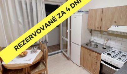 PREDANÉ: BEZKONKURENČNÁ CENA:  2,5 izbový byt v Prešove