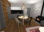 Nízke Tatry- novostavba trojizbového apartmánu v prostredí slovenskej prírody s vyhradeným parkovaním