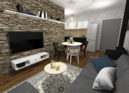 Krásny, trojizbový apartmán v pokojnom prostredí Nízkych Tatier, s vyhradeným parkovaním