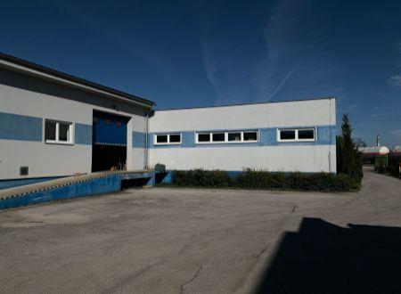 Na prenájom priemyselná budova v Partizánskom - Veľké Bielice