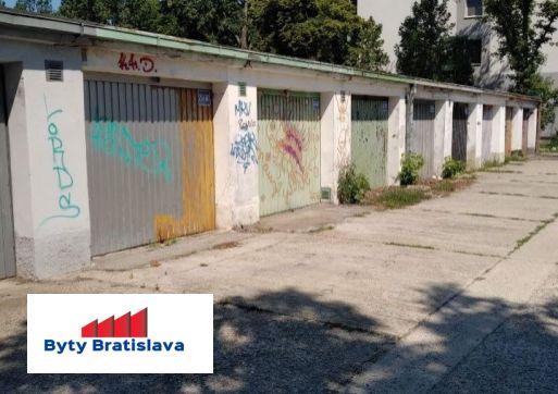 RK Byty Bratislava preda garaz na ul.Čmelikova,BAII.