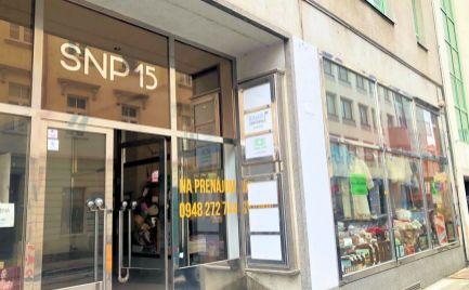 Výborné obchodné priestory na rohu Kolárskej a Špitálskej ulice