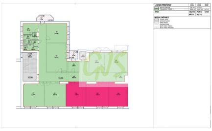 Exkluzívne administratívne priestory od výmery 22,79 m2 do 173,28 m2