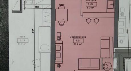 Kuchárek-real: Novostavba 1-izbového bytu v Pezinku na Muškáte.