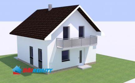 Obec SVINNÁ - novostavby na predaj - 4 izby s terasou na pozemkoch o výmere RD č. 1 - 390 m2 a RD č. 2 - 412 m2