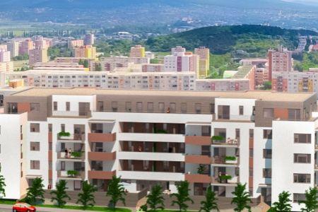 IMPEREAL - Predaj 2 izb. byt 4/5p. 61.18 m2 PANORAMA - Nitra