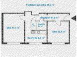 2 izbový byt - nepriechodné izby, na ul. Karola Adlera - Dúbravka