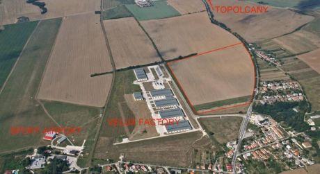 Na predaj priemyselný park v Partizánskom