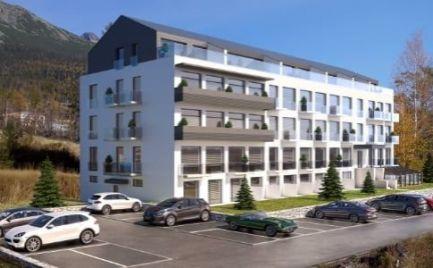 EXKLUZÍVNE: štúdio apartmán, 30 m2, s balkónom, Starý Smokovec, Vysoké Tatry