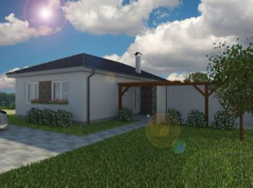 **NOVINKA: Predaj rodinného 3 izb. bungalovu v obci Borský Mikuláš!!