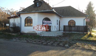 Realfinn Exkluzívne predaj- rodinný dom na podnikanie, Strekov