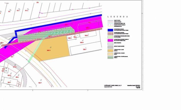Pozemok s výbornou dostupnosťou pre priemysel, obchod alebo logistiku - Vápenická ulica, PD - Možné rozdelenie